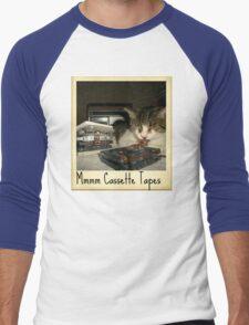 Mmmm Cassette Tapes Men's Baseball ¾ T-Shirt
