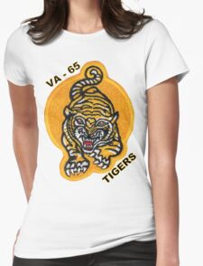 VA-65 Tigers Patch Womens Fitted T-Shirt