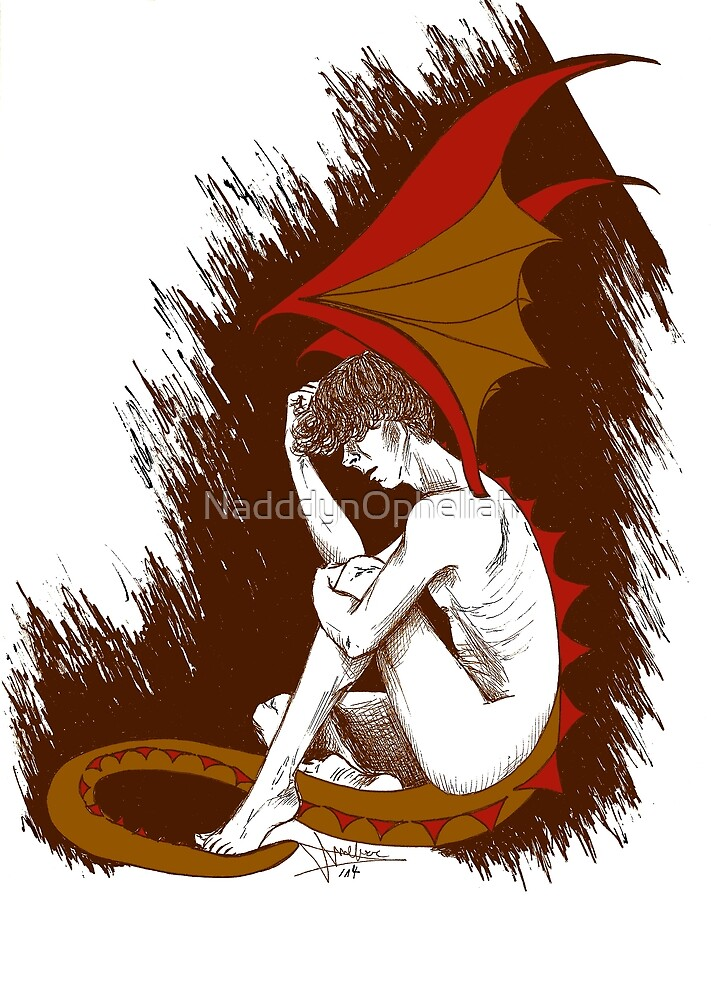 The Desperation of Smaug by NadddynOpheliah