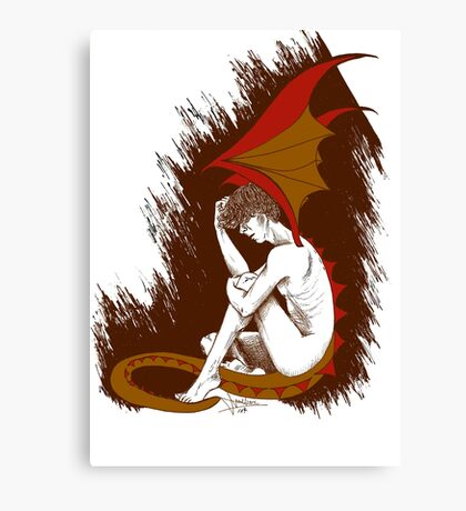 The Desperation of Smaug Canvas Print