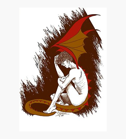 The Desperation of Smaug Photographic Print