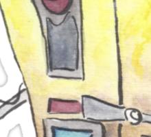 Claptrap Watercolor Painting Sticker