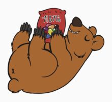 Candy Coated Chocolate Bear by OutlandStudios