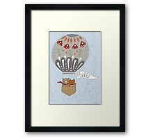 Hot Air Terrarium Framed Print