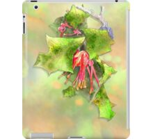 Holly Grevillea iPad Case/Skin