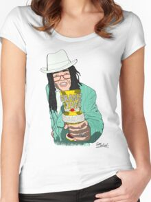 Lil' John Mulaney Women's Fitted Scoop T-Shirt