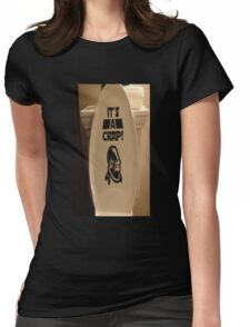 Ackbar-It's A Crap Womens Fitted T-Shirt