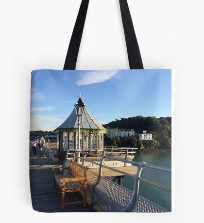Pier, Bangor Tote Bag
