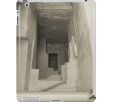 Cathédrale d'Images at Les Baux de Provence iPad Case/Skin