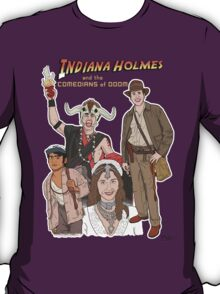 Indiana Holmes and the Comedians of Doom T-Shirt