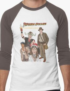 Indiana Holmes and the Comedians of Doom Men's Baseball ¾ T-Shirt