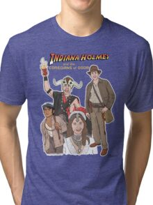 Indiana Holmes and the Comedians of Doom Tri-blend T-Shirt