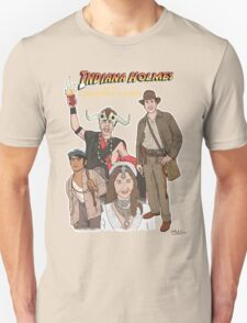 Indiana Holmes and the Comedians of Doom Unisex T-Shirt
