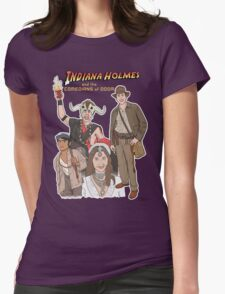 Indiana Holmes and the Comedians of Doom Womens Fitted T-Shirt