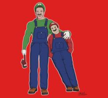 Super Mario Twins by Eddie Mauldin