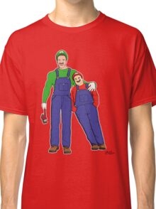 Super Mario Twins Classic T-Shirt