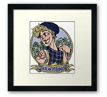 sailor uranus Framed Print