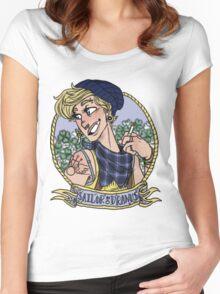 sailor uranus Women's Fitted Scoop T-Shirt