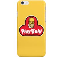 Play D'oh! iPhone Case/Skin