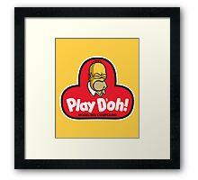 Play D'oh! Framed Print