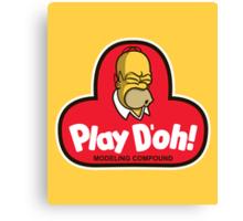 Play D'oh! Canvas Print