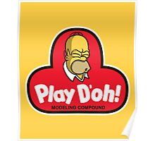 Play D'oh! Poster