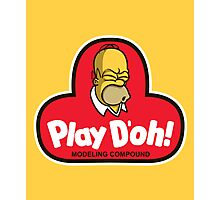 Play D'oh! Photographic Print