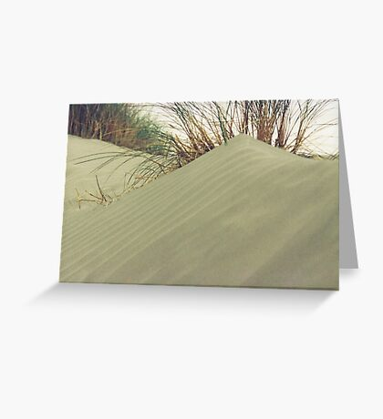 sand-dune Greeting Card