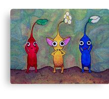 Pikmin: See No Evil, Speak No Evil, Hear No Evil Canvas Print