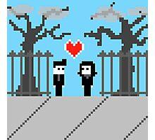 Pixel Love: We Found Love Photographic Print