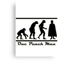 "One Punch Man ""Timeline Evolution"" Canvas Print"