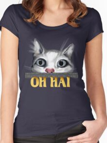 Oh Hai-gold Women's Fitted Scoop T-Shirt