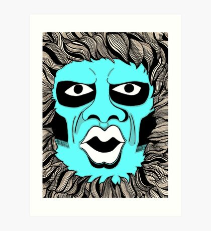 Twilight Zone Gremlin Art Print