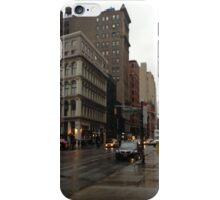 Rainy Midtown iPhone Case/Skin