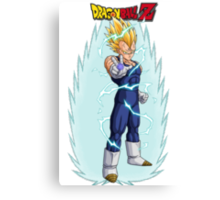 Vegeta Canvas Print