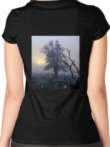 Freezing fog # 2 Women's Fitted Scoop T-Shirt