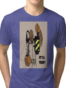 Ackbar Ghostbusters Spoof Tri-blend T-Shirt