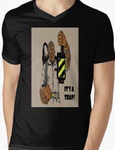 Ackbar Ghostbusters Spoof Mens V-Neck T-Shirt