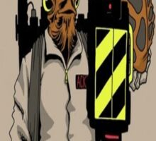 Ackbar Ghostbusters Spoof Sticker