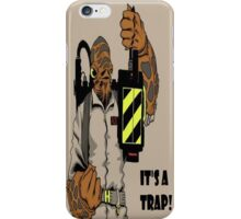 Ackbar Ghostbusters Spoof iPhone Case/Skin