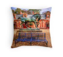 Waddesdon Manor Stables Throw Pillow