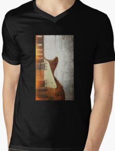 Guitar Vibe 1- Single Cut '59 Mens V-Neck T-Shirt