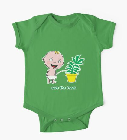 Save the Trees One Piece - Short Sleeve