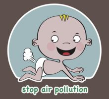 Stop Air Pollution One Piece - Short Sleeve
