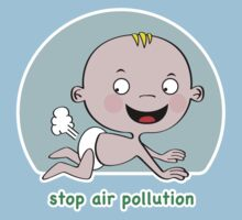 Stop Air Pollution by Kidgreen