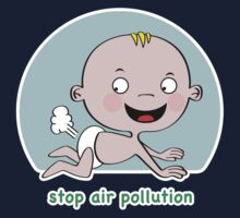 Stop Air Pollution Kids Clothes