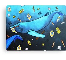 Wasted Planet Canvas Print