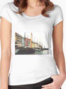 Copenhagen Women's Fitted Scoop T-Shirt