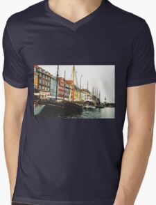 Copenhagen Mens V-Neck T-Shirt