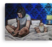 Google: Parenting Canvas Print